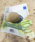 Hundred euro. Royalty Free Stock Photos