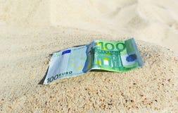 Hundred euro. Royalty Free Stock Photo