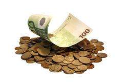Hundred euro Stock Images