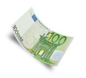 Hundred euro Stock Photography