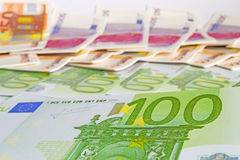 Hundred euros Stock Photos