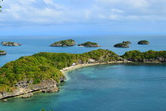 Hundred Islands Royalty Free Stock Images