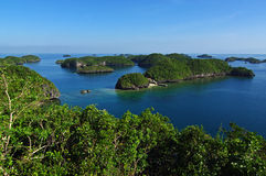 Hundred Islands National Park #1 Royalty Free Stock Photos
