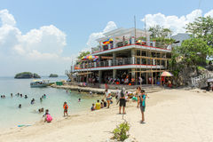 Hundred Islands tourist spot Royalty Free Stock Images