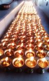 A hundred lamps Stock Photography