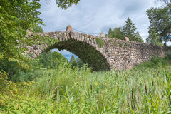 Hundred-meter boulder-arch bridge Royalty Free Stock Photography