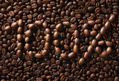 Hundred percent natural coffee. Royalty Free Stock Photo