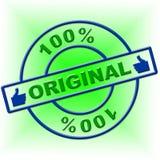 Hundred Percent Original Represents Bona Fide And Attested Stock Photos