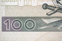 Hundred polish zloty Royalty Free Stock Photo