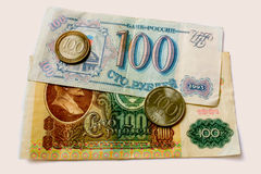 Hundred rubles Royalty Free Stock Photos
