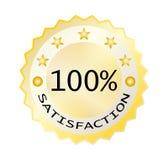 Hundred satisfaction Royalty Free Stock Photo