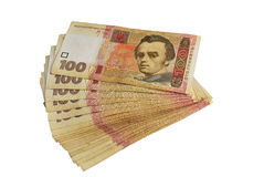 Hundred Ukrainian hryvnia Royalty Free Stock Image
