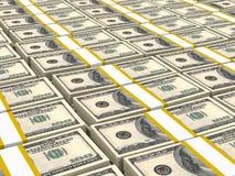 Hundred US Dollars. Stock Image