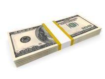 Hundred US Dollars. Royalty Free Stock Photography