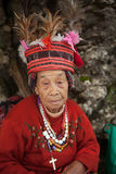 Hundred Year Old Filipino Woman Stock Photography