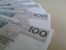 Hundred zloty Stock Photos