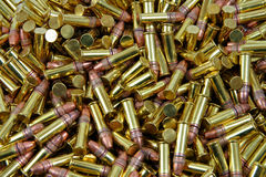 Hundreds of Bullets Royalty Free Stock Images