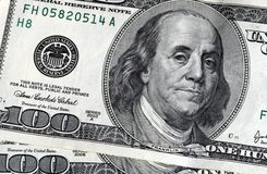 Hundreds of Dollars Stock Images