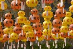 Hundreds of lanterns Stock Images