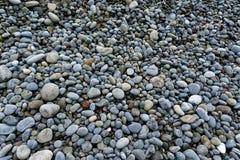 Hundreds of pebbles on a stoney beach royalty free stock photography