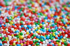 Hundreds & Thousands. Shot of the popular Hundreds & Thousands to which children like as fairy bread Royalty Free Stock Photos