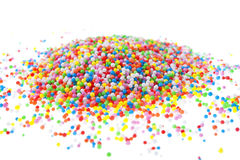 Hundreds and Thousands Sprinkles Stock Photography