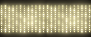 Hundreds of tiny light bulbs Royalty Free Stock Photo