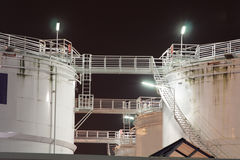 Hundreds tons of fuel Stock Images