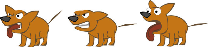 hundset royaltyfri illustrationer