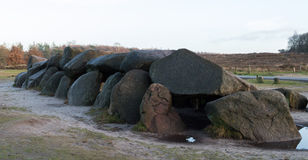 Hunebeds в Drentje Нидерландах Стоковые Изображения RF