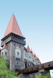 Hunedoara Castle. Gothic-Renaissance castle in Hunedoara (Transylvania) . The Hunyad Castle, Castelul Huniazilor or Castelul Corvinestilor, Vajdahunyad vára Stock Photo