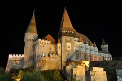 Hunedoara Castle Royalty Free Stock Images