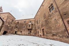 hunedoara corvin κάστρων Στοκ εικόνα με δικαίωμα ελεύθερης χρήσης
