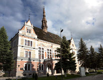 Hunedoara County Prefecture Royalty Free Stock Photo
