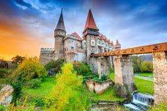 Hunedoara, Roemenië stock foto's