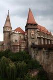 Hunedoara Schloss Stockbilder