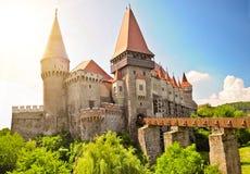 Hunedoara Schloss Stockfotografie