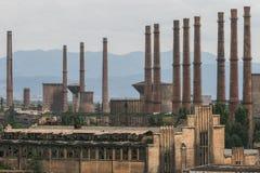 Hunedoara steel factory. Hunedoara, Romania, September 6, 2009: Hunedoara steel factory Stock Image