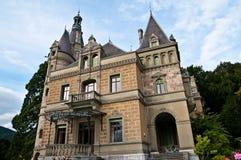 Hunegg Castle Stock Photo
