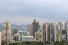 Hung Hom with the apartment Royalty Free Stock Photos