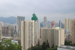 Hung Hom with the apartment Royalty Free Stock Images