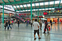 Hung hom train station, hong kong Stock Photography