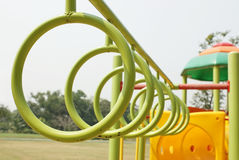 Hung hoops Royalty Free Stock Photos