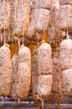 Hung Italian cotechino Stock Image