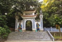 Hung Kings Temple Phu Tho Foto de Stock Royalty Free