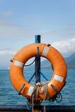 Hung Life buoy Royalty Free Stock Photos