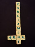 Hung Parliament. royalty free stock photos