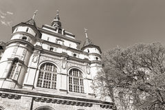 Hungarian Agricultural Museum (monochrome) Stock Photos
