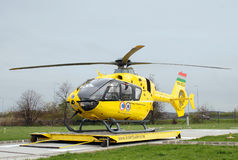 Hungarian Air ambulance stock photo