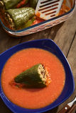 Hungarian Baked Stuffed Pepper Stock Images